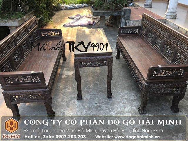 Trường kỷ Huế gỗ gụ TKY9901