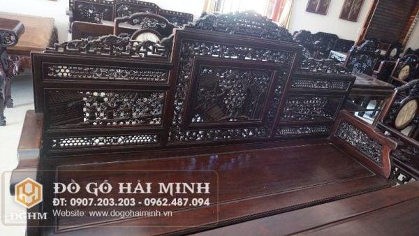 Trường kỷ cổ đồ gỗ gụ TKY2604