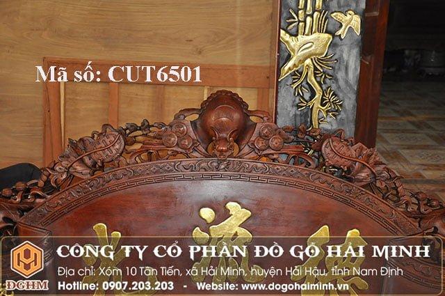 Cuốn thư dơi gỗ gụ CUT6501