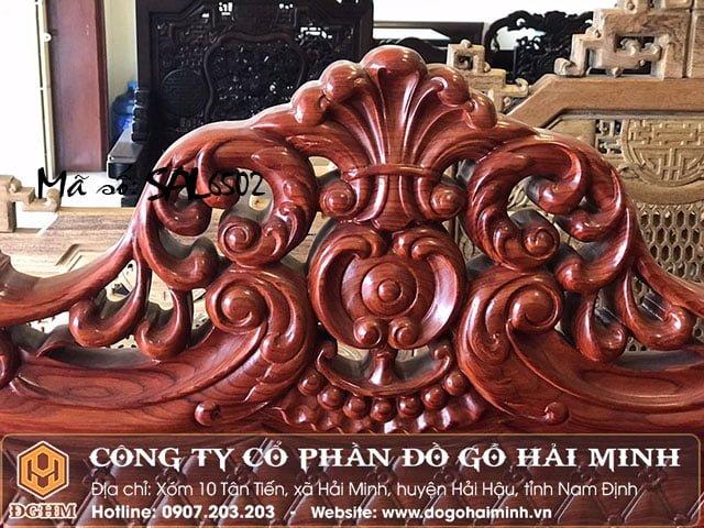 Bộ Salong hoàng gia gỗ hương SAL6502