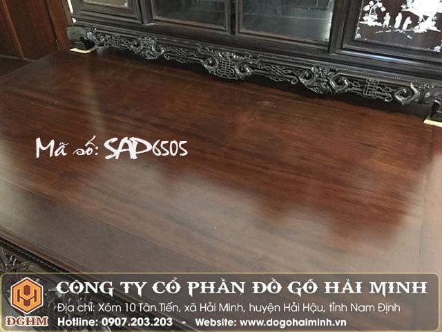 sập ngũ phúc gỗ gụ SAP6505