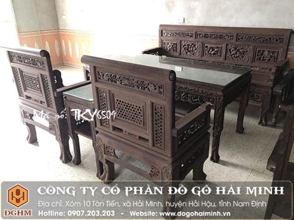 Trường kỷ huế gỗ gụ TKY6509