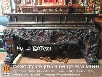 Sập thờ tứ linh BAT6501