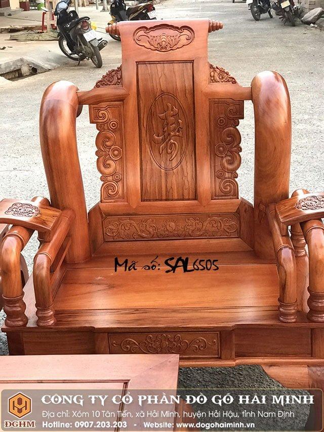 Bộ tần thủy hoàng gỗ hương SAL6505