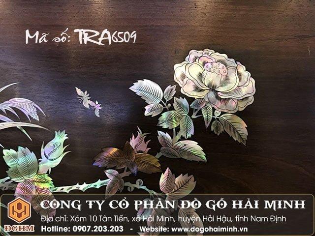 Tranh khảm bông hồng TRA6509