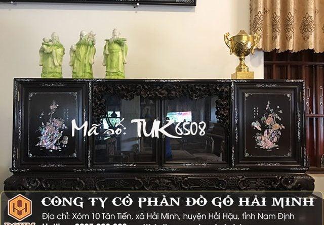 Tủ chè ngũ phúc khảm ốc TUK6508