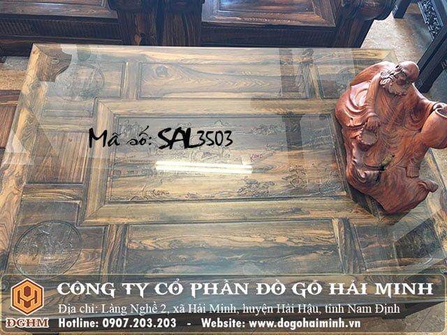 Bộ ghế gỗ mun SAL3503