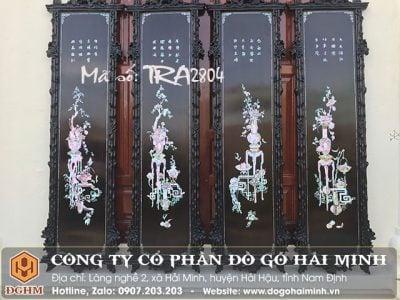 Tranh tứ bình khảm ốc TRA2804