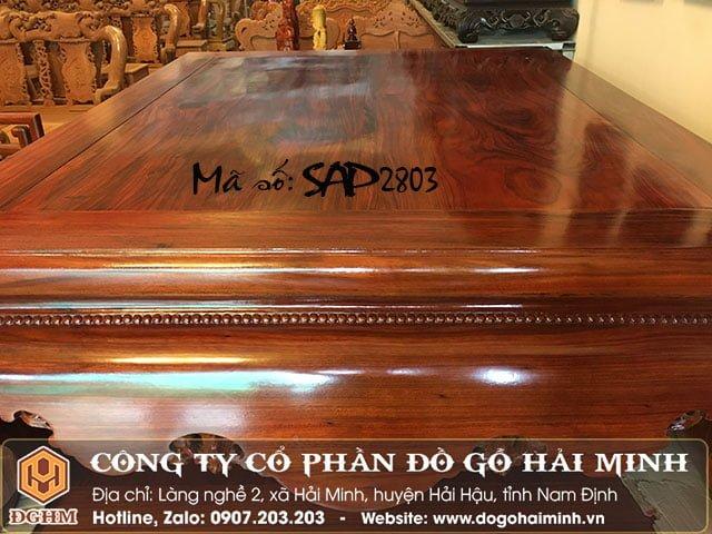 Sập vén gỗ hương SAP2803