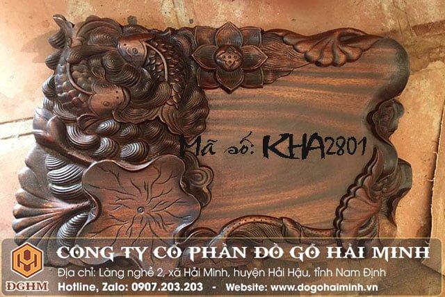 Khay trà gỗ