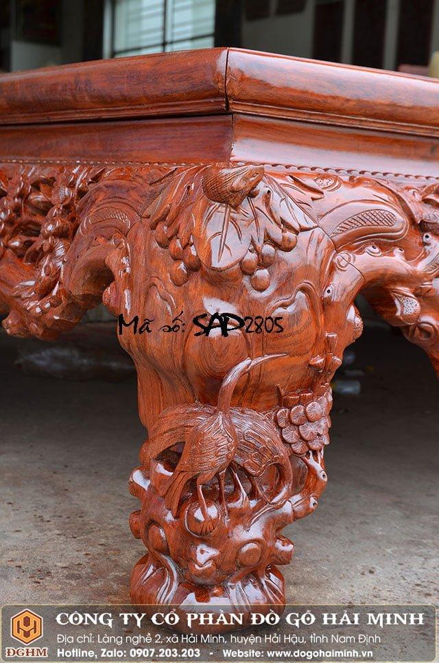 Sập mai thọ gỗ cẩm