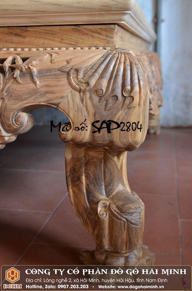 Sập vắt vải gỗ gụ