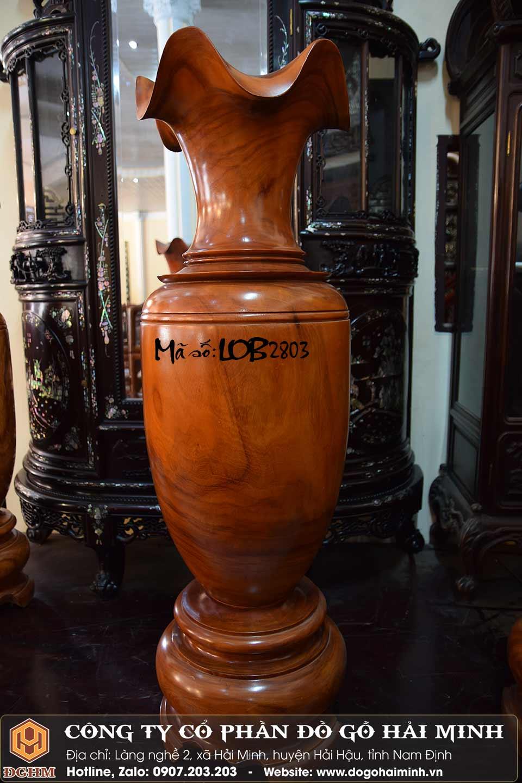 lộc bình gỗ hương đỏ 1m3