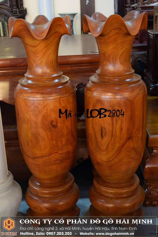 cặp lục bình gỗ 1m7