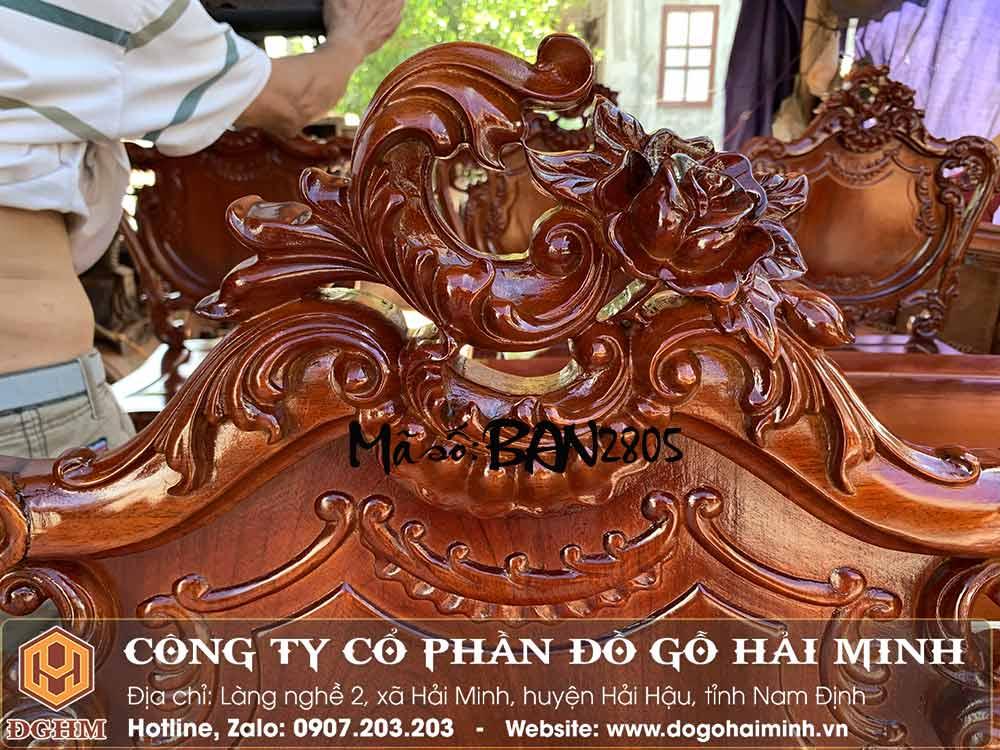 mẫu ghế ăn phong cách châu âu