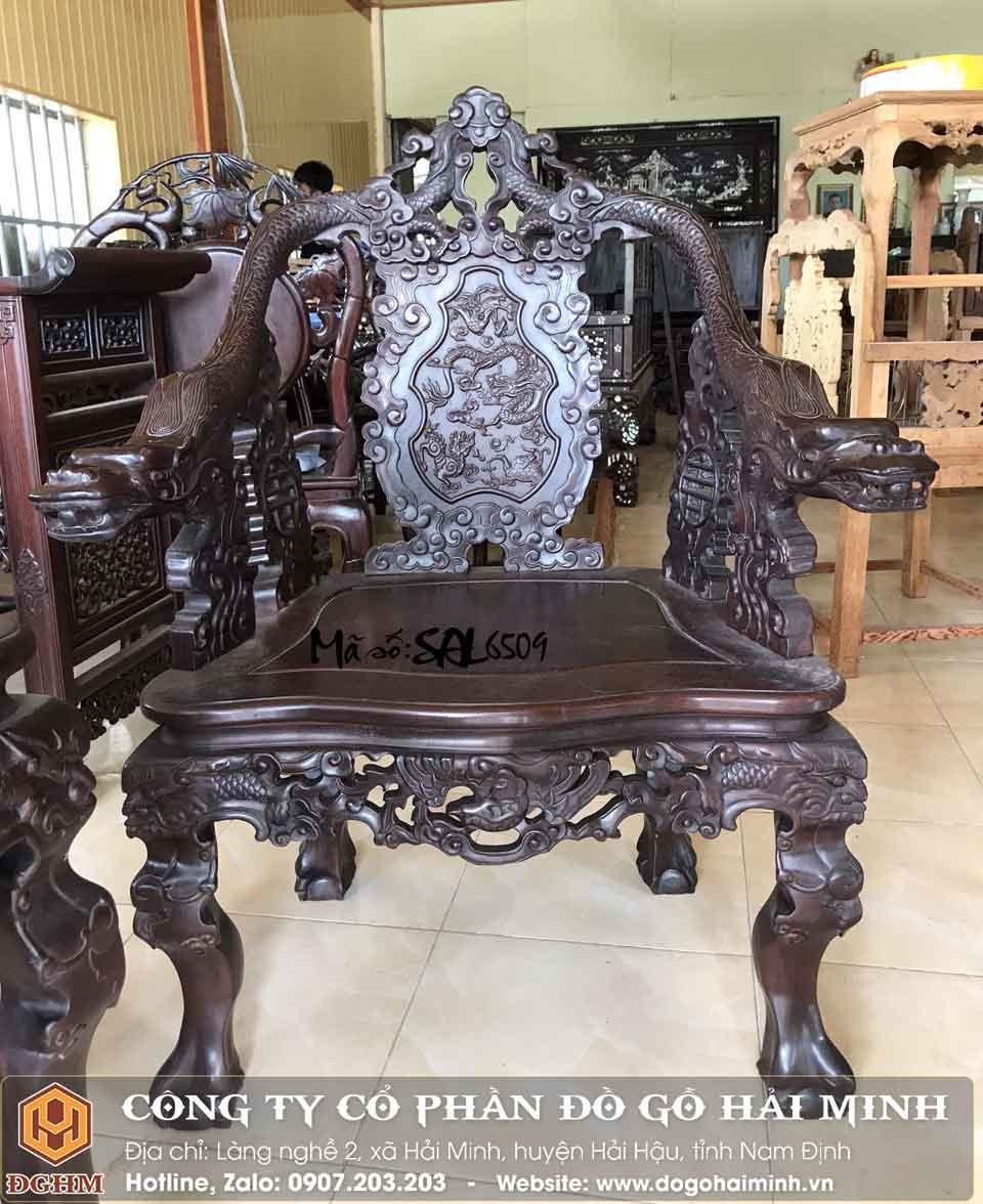 ghế minh rồng đế vương đẹp