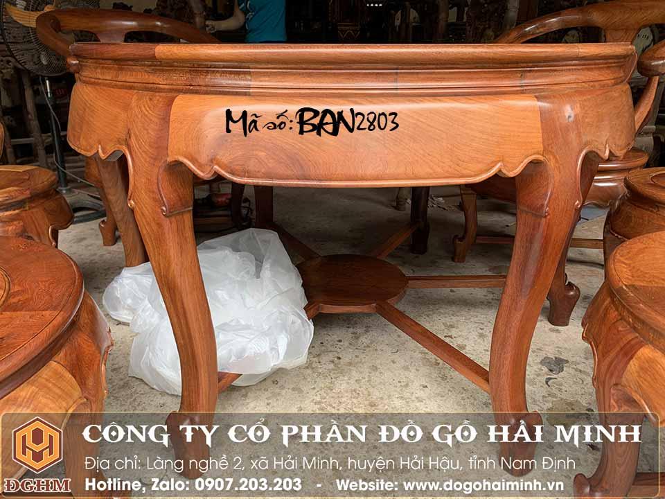bàn ăn tròn 7 ghế