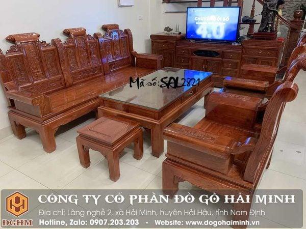 bàn ghế âu á tay hộp gỗ hương