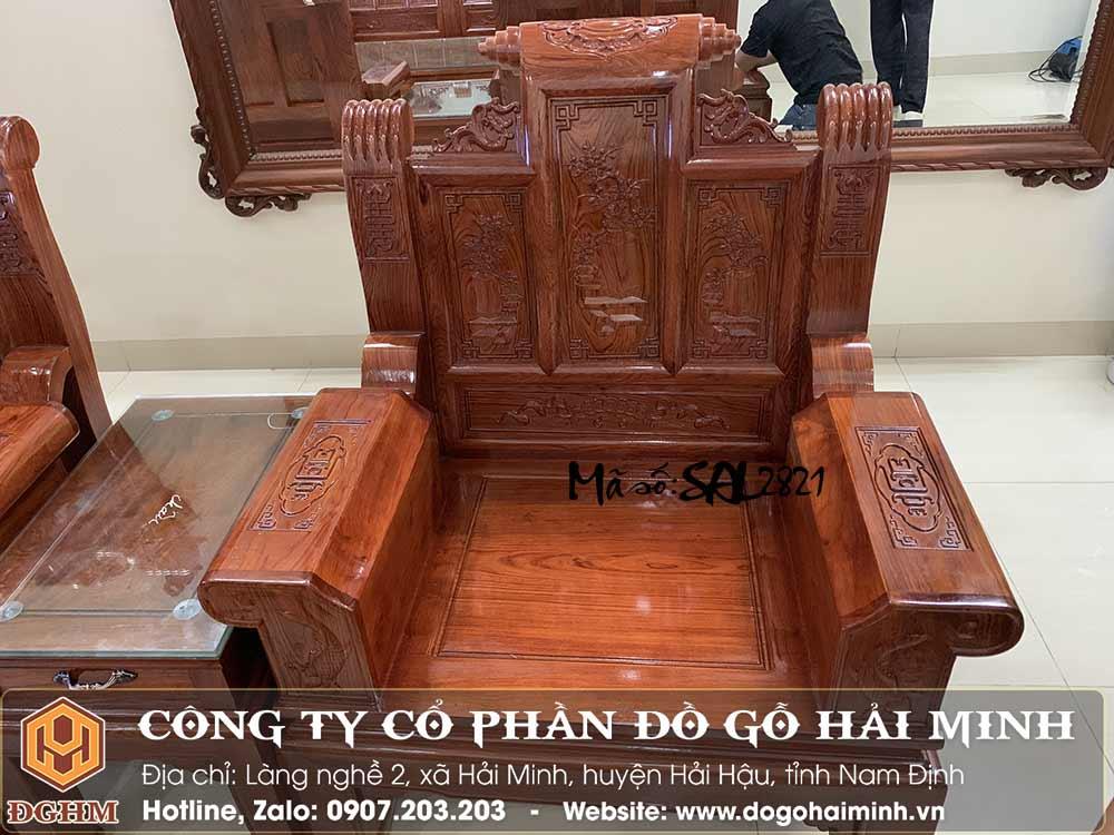 bộ bàn ghế tay hộp gỗ hương
