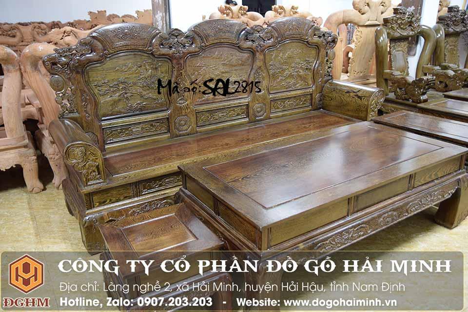 bàn ghế khổng minh gỗ mun đuôi công