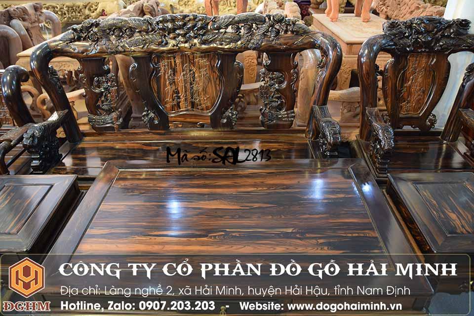 giá bộ minh quốc gỗ mun Lào