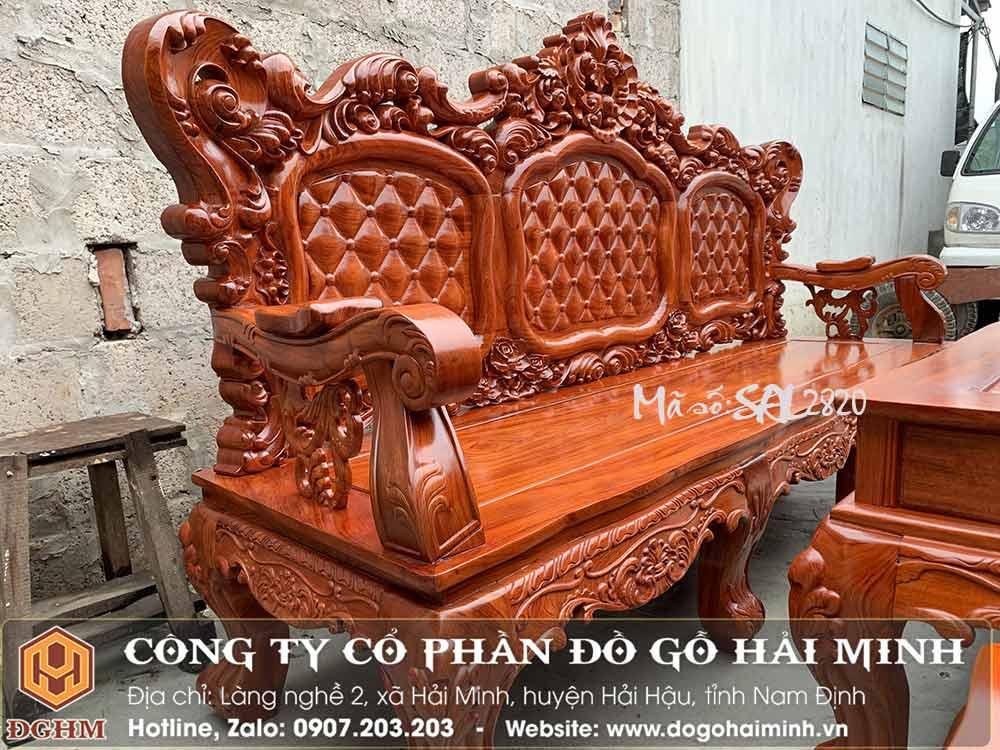 ghế lu uy gỗ hương