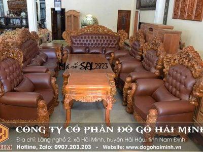 bộ sofa hoàng gia đẹp