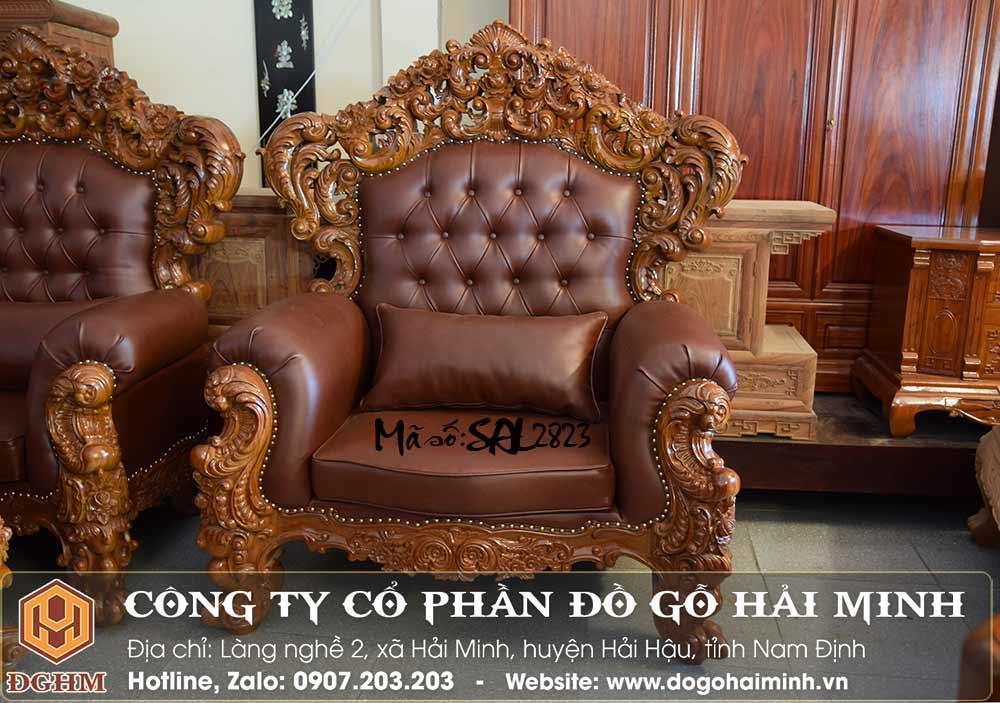 ghế sofa phong cách hoàng gia