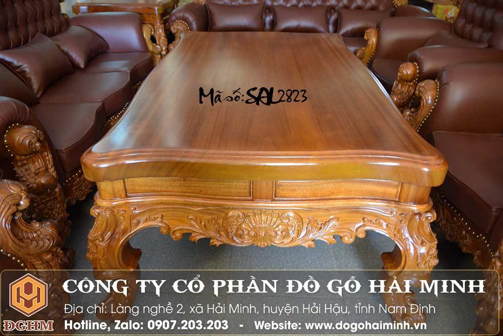 bàn sofa hoàng gia