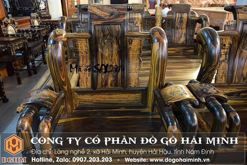 mẫu ghế tần quốc gỗ mun