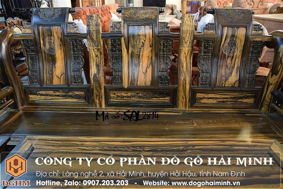 bàn ghế minh tần gỗ mun