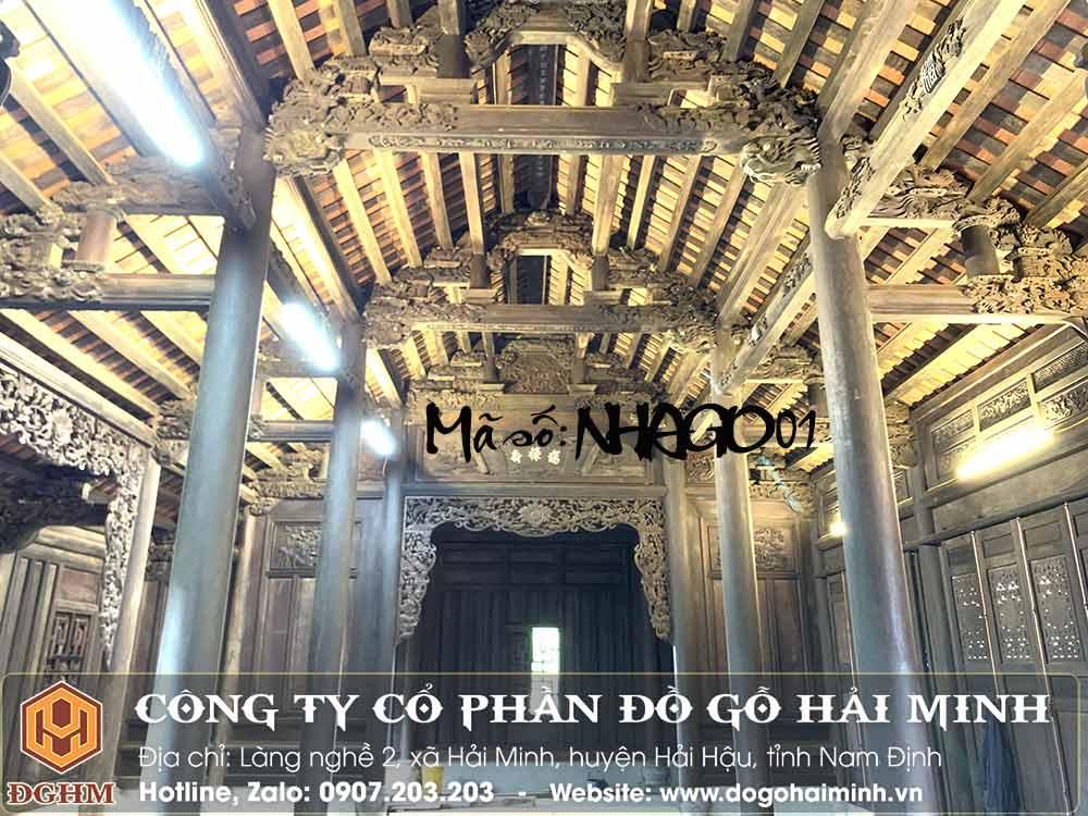 nhà gỗ lim 300 năm tuổi