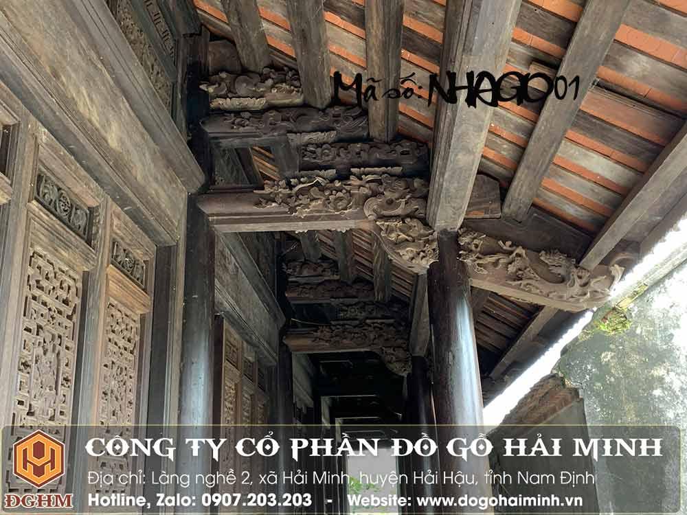 nhà gỗ lim 200 tỷ
