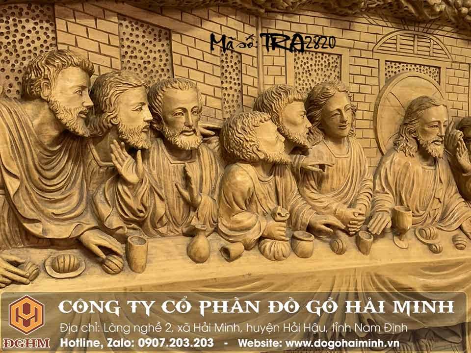 thứ tự tông đồ trong tranh 12 tông đồ và jesu