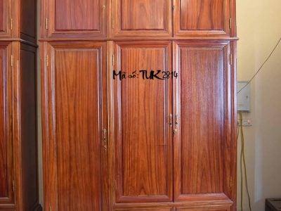 tủ quần áo gỗ hương đỏ nam phi
