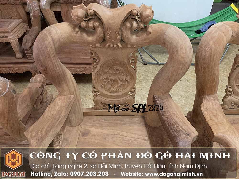bộ minh đào gỗ gõ tay 16