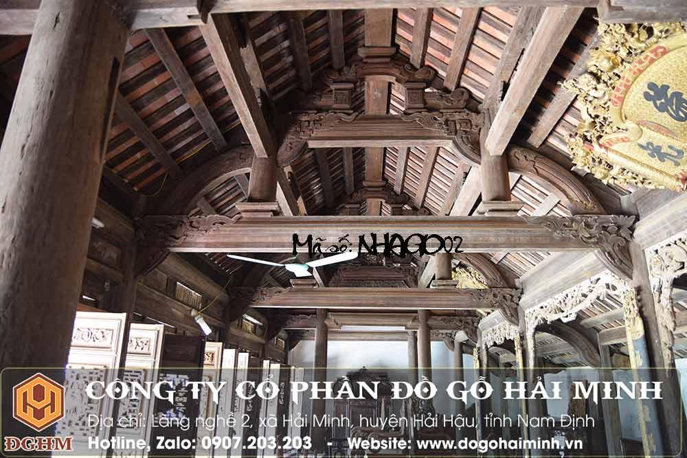 nhà gỗ lim cổ