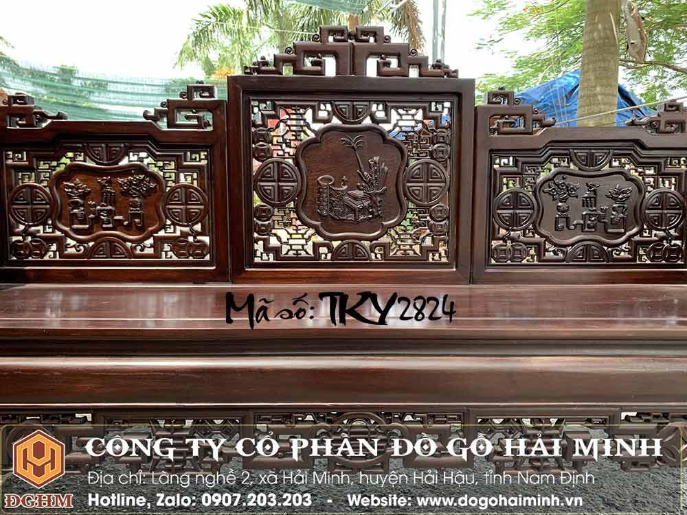 bàn ghế trường kỷ đại lõi tịch