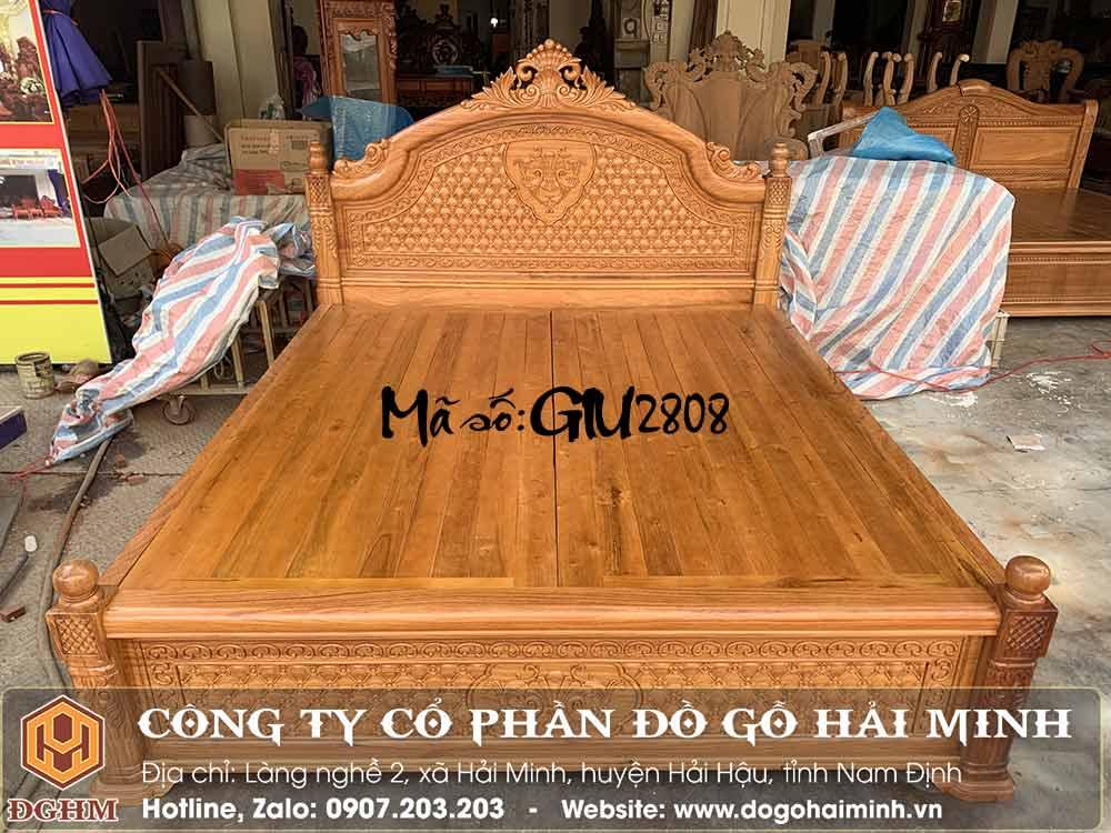 giường vòm đục quả trám gỗ gõ đỏ nam phi