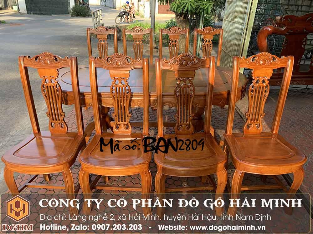 ghế ăn gỗ gõ đỏ