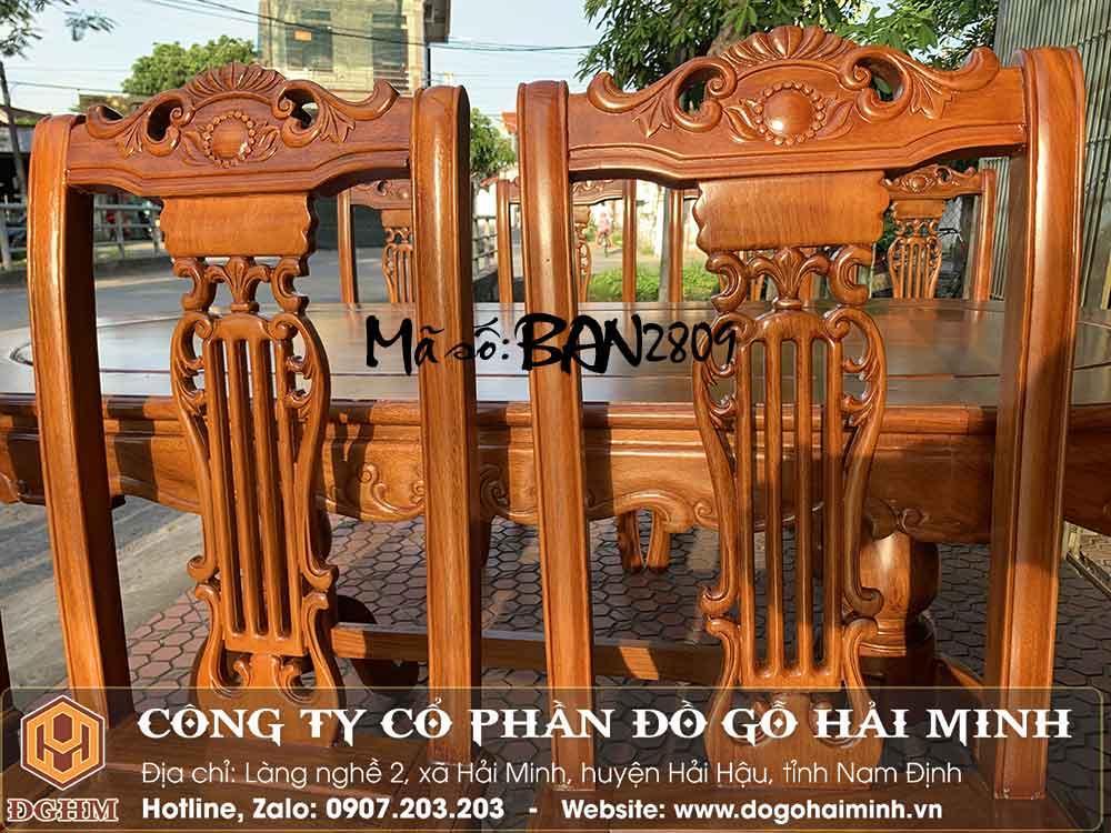 ghế ăn gỗ gõ đỏ giá rẻ