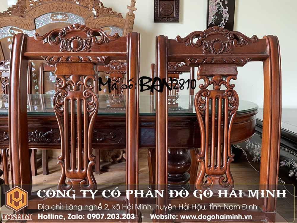 bàn ghế ăn oval giá rẻ