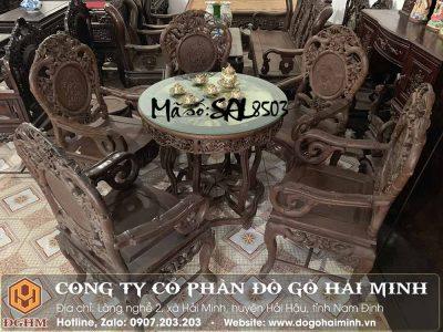 bộ bàn ghế trúc dưa đục tay đẹp