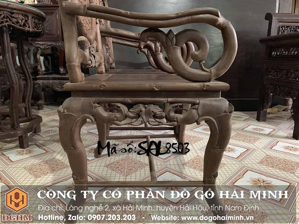 kích thước bàn ghế trúc