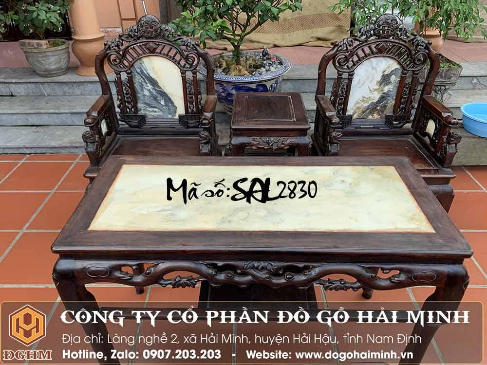 bàn ghế cổng thành gỗ trắc đỏ