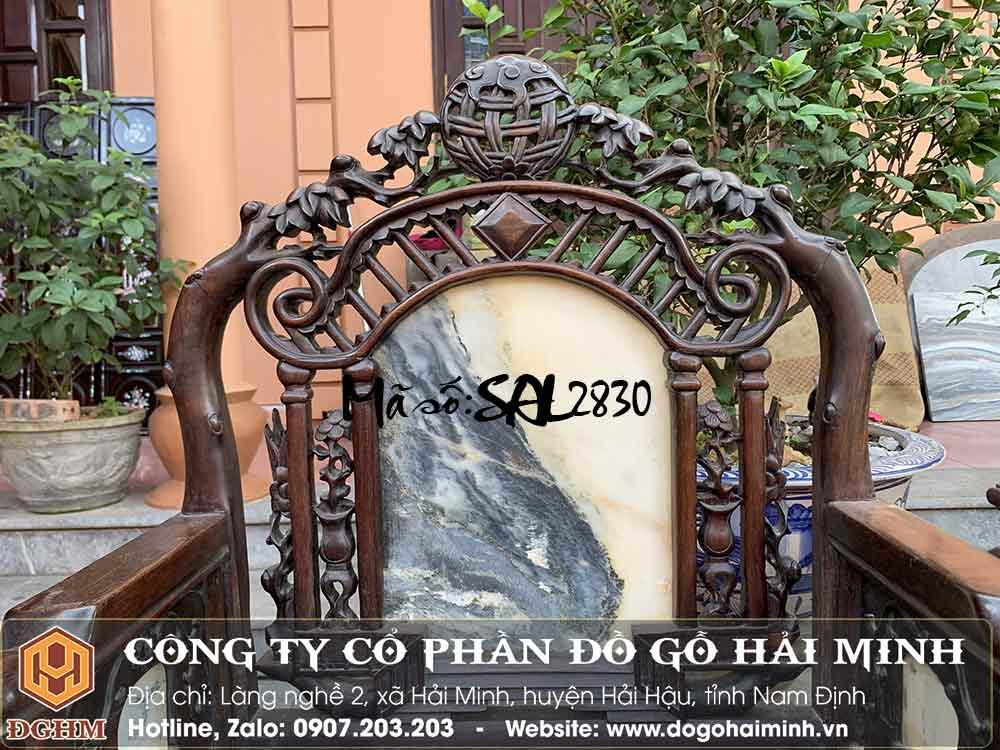 bàn ghế xưa dáng cổng thành