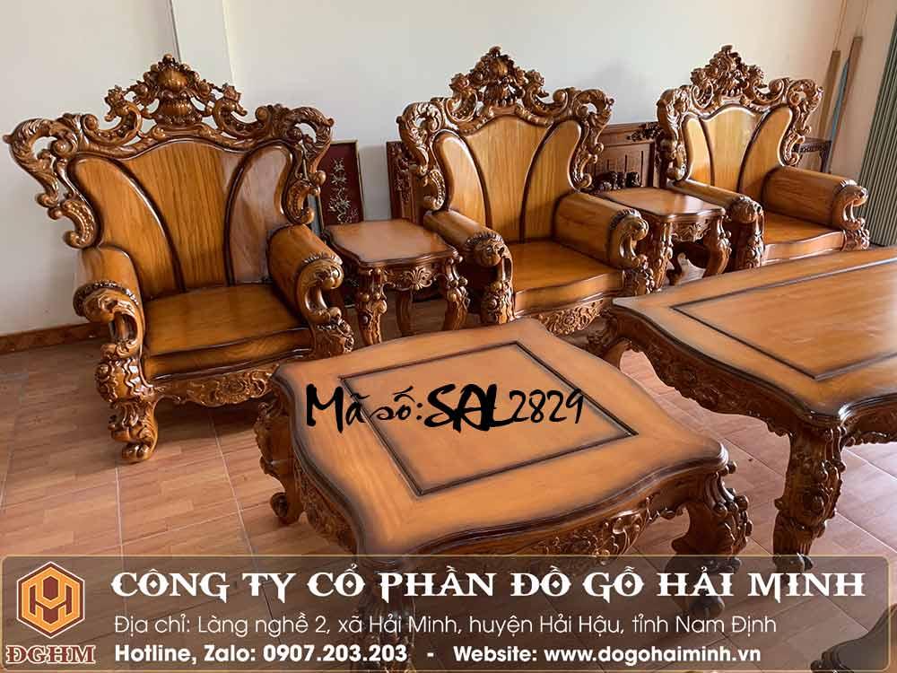 mẫu ghế hoàng gia cổ điển đẹp