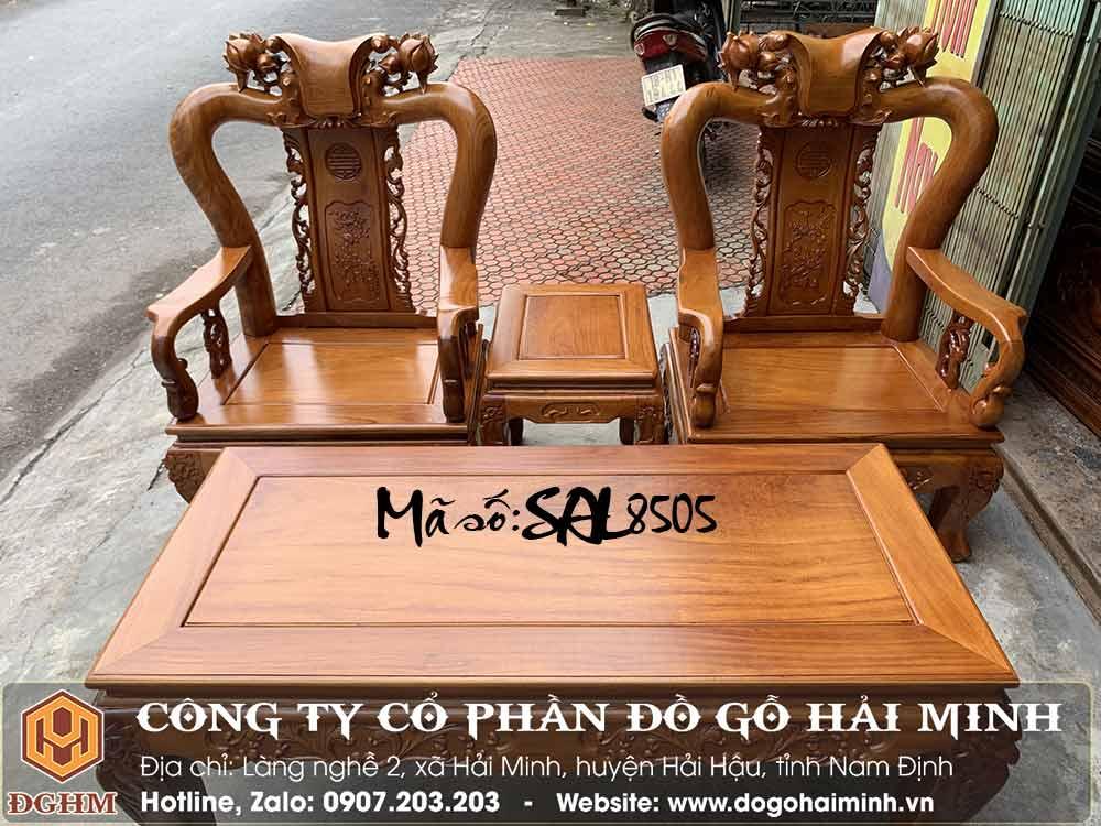 bàn ghế minh đào tay 10 gỗ gõ