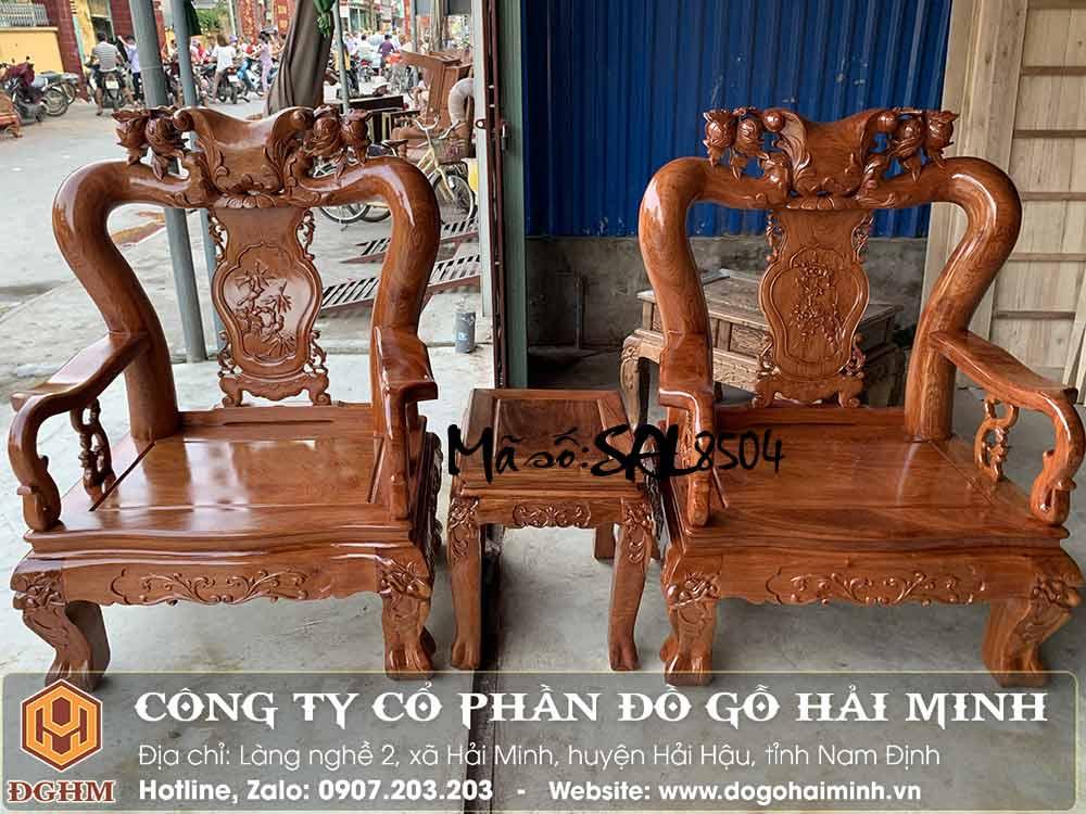 mẫu ghế ngắn minh quốc đào gỗ hương