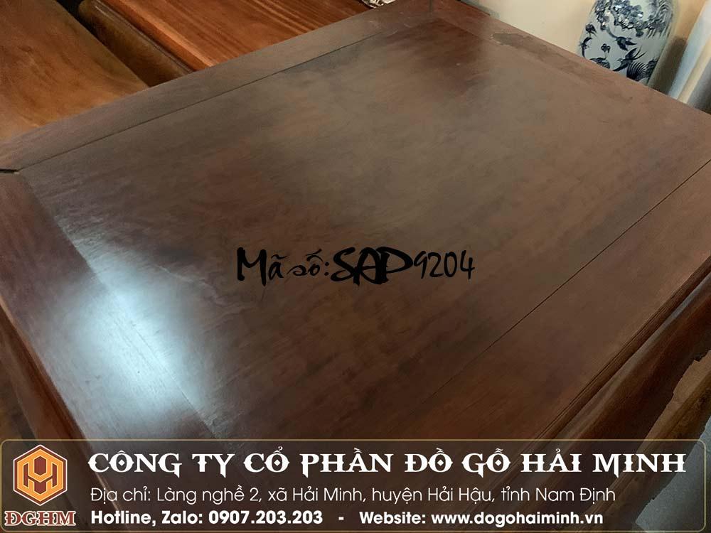 Giá sập gỗ cẩm mặt 1 lá